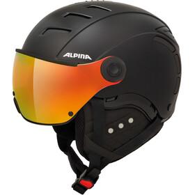 Alpina Jump 2.0 QVMM Ski Helmet black matt